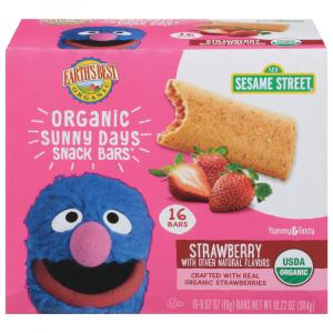 Earth's Best Organic Sunny Days Strawberry Snack Bars