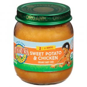Earth's Best Organic Sweet Potatoes & Chicken
