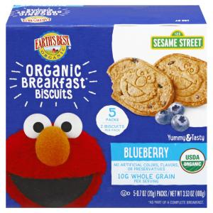 Earth's Best Organic Blueberry Breakfast Biscuits
