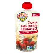 Earth's Best Organic Banana Raspberry Brown Rice