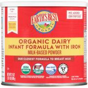 Earth's Best Organic Infant Formula w/ Iron