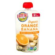 Earth's Best Organic 2 Orange Banana Baby Food Puree