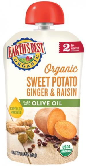 Earth's Best Organic Sweet Potato Ginger & Raisin With