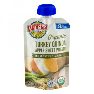 Earth's Best Organic Turkey Quinoa Apple Sweet Potato Meal