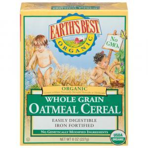 Earth's Best Organic Whole Grain Oatmeal