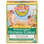 Earth's Best Organic Whole Grain Oatmeal