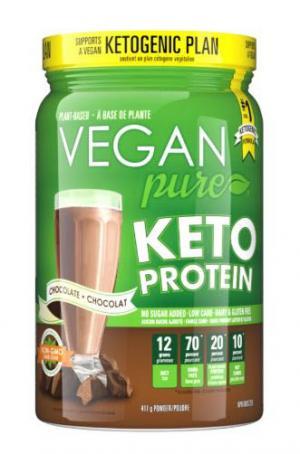 Vegan Pure Keto Protein Chocolate Dietary Supplement
