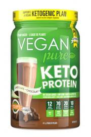 Vegan Pure Keto Protein Chocolate Dietary Supplement