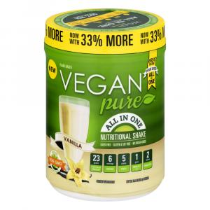 Vegan Pure All In One Vanilla Powder Nutritional Shake