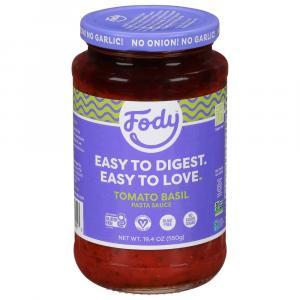 Fody Low Fodmap Top-Notch Tomato Basil Pasta Sauce