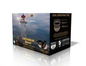 Jumping Bean Organic Lighthouse Roast Coffee Pods