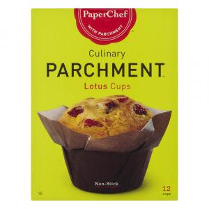 Paperchef Culinary Parchment Lotus Cups