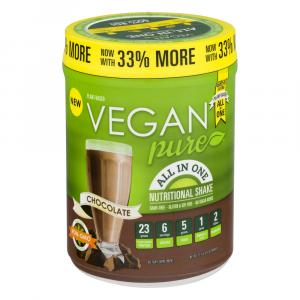 Vegan Pure All In One Chocolate Powder Nutritional Shake