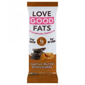 Love Good Fats Snack Bar Peanut Butter Chocolatey