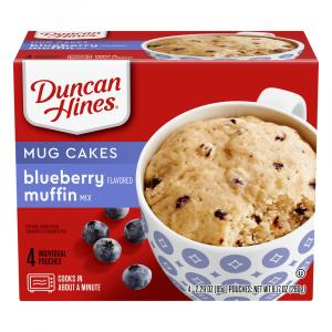 Duncan Hines Sunrise Perfect Size For 1 Blueberry Muffin Mix