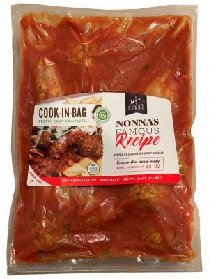 Winchester Farms Cook-In Bag Marinara w/Sausage & Meatballs
