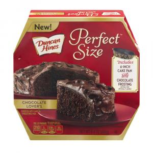 Duncan Hines Perfect Size Chocolate Cake & Frosting Mix