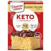 Duncan Hines Keto Gluten Free Yellow Cake