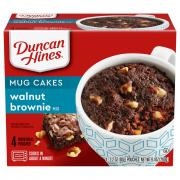Duncan Hines Perfect Size For 1 Walnut Brownie Mix