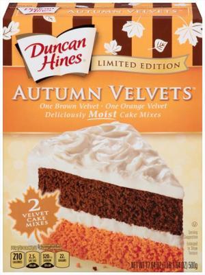 Duncan Hines Autumn Velvet Cake Mix