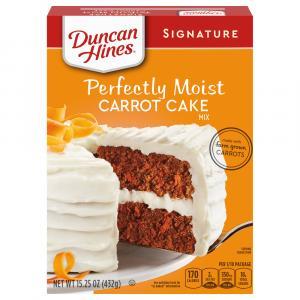 Duncan Hines Signature Carrot Cake Mix