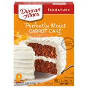 Duncan Hines Signature Carrot Cake Mix