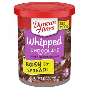 Duncan Hines Chocolate Whipped Frosting