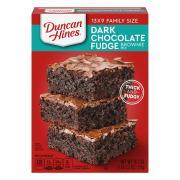 Duncan Hines Dark Chocolate Fudge Brownie Mix