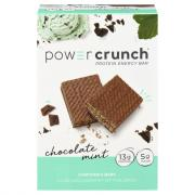 Power Crunch Chocolate Mint Bars