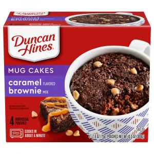 Duncan Hines Perfect Size for 1 Caramel Brownie Mix