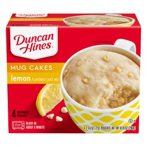 Duncan Hines Perfect Size For 1 Lemon Cake Mix