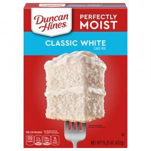 Duncan Hines White Cake Mix