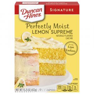 Duncan Hines Lemon Supreme Cake Mix