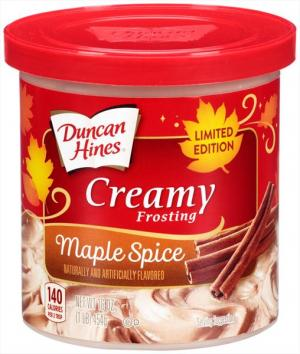 Duncan Hines Maple Spice Frosting