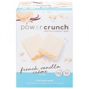 Power Crunch French Vanilla Creme Energy Bars