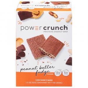 Power Crunch Peanut Butter Fudge Protein Bars