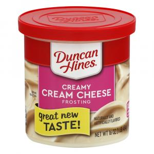 Duncan Hines Ready To Spread Cream Cheese Frosting