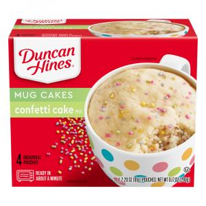 Duncan Hines Funtastic Perfect Size For 1 Confetti Cake Mix