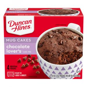 Duncan Hines Decadent Perfect Size For 1 Chocolate Cake Mix