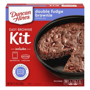 Duncan Hines Perfect Size Double Fudge Brownie
