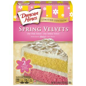 Duncan Hines Spring Velvet Cake Mix