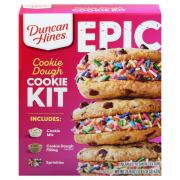Duncan Hines Epic Cookie Dough Cookie Kit