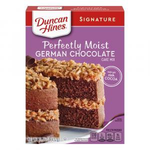 Duncan Hines German Chocolate Cake Mix