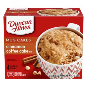 Duncan Hines Sunrise Perfect Size For 1 Cinnamon Coffee Cake