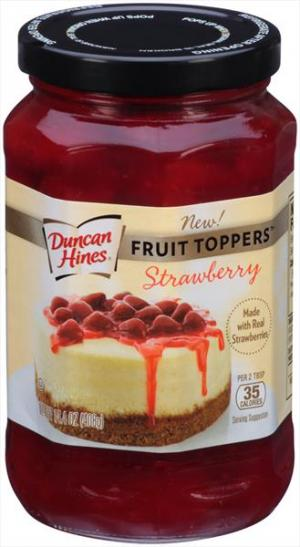 Duncan Hines Strawberry Fruit Toppers