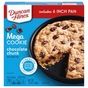 Duncan Hines Chocolate Chunk Mega Cookie