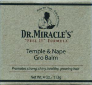 Dr. Miracle Temple & Nape Gro Balm