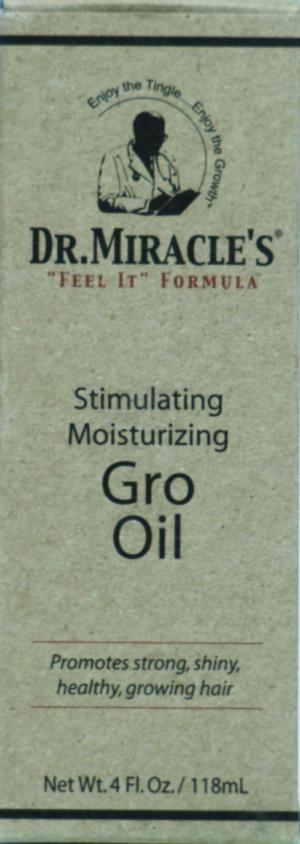 Dr. Miracle Stimulating, Moisturizing Gro Oil