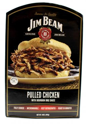 Jim Beam Pulled Chicken With Bourbon Bbq Sauce