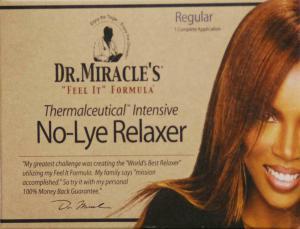 Dr. Miracle No-Lye Relaxer Regular